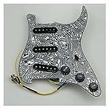 Accesorios de Guitarra Pickups De Guitarra Preweguard PickGuard Single Coil Pickup Tipo De 7 Vías Pantallo Completamente Cargado para Stratocaster Guitar