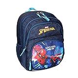 Spirit Mochila escolar, mochila escolar, gran capacidad, bolsa de viaje, para niños y niñas, Spiderman (colección Kids