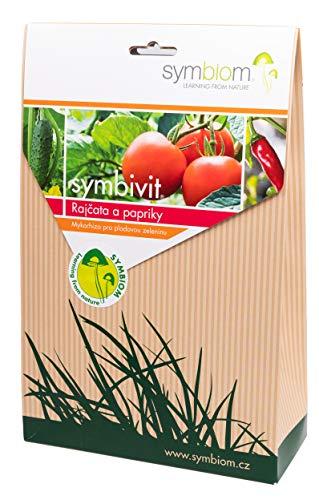 Symbiom Symbivit Mykorrhiza Pilze für Tomaten, Paprika und anderes Gemüse, 750 g