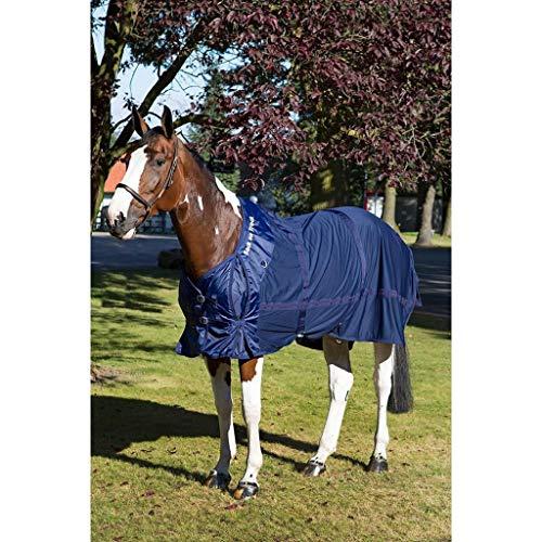 Back on Track Welltex® Tour de cou pour couverture en filet Bleu 135 cm