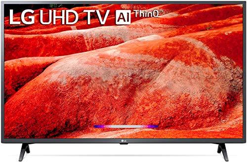 LG 126 cms (50 inches) 4K Ultra HD Smart LED TV 50UM7700PTA   with Built-in Alexa (Ceramic Black) (2019 Model)