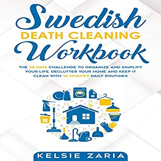 Swedish Death Cleaning Workbook audiobook cover art