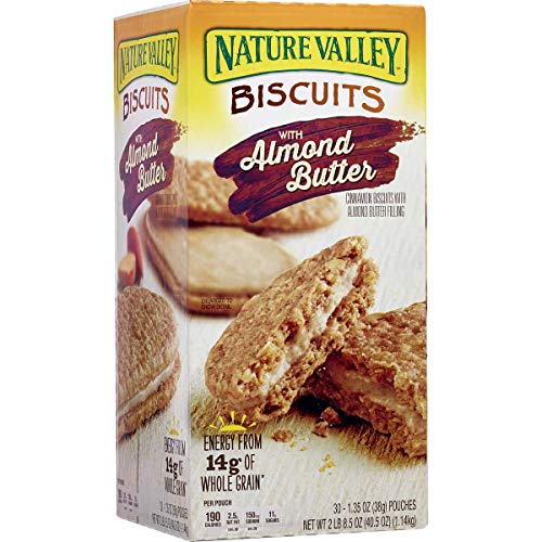 Nature Valley Nature Valley Almond Butter Breakfast Biscuit (30 X 1.35 Ounce )Total Net Wt (40.5 Ounce ),