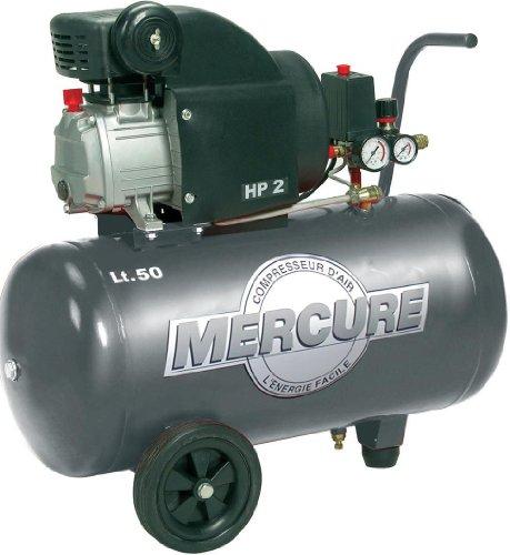 Mercure -Compresseur d'air sur roues, 50L 2hp