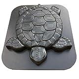 HapWay Turtle Shape Stepping Stone Mold, Tortoise Concrete Cement Mould Walk Maker, DIY Personalized Manual Garden Lawn Pathmate Paving Pavement Paver