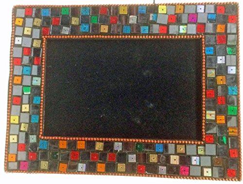 Mg Décor fotolijst, parelbezet, 10,16 x 15,24 cm, koperkleurig/goudkleurig
