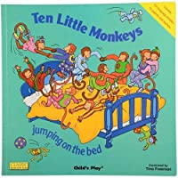 Constructive Playthings CHI-96 Ten Little Monkeys - Song/Rhyme Big Book [並行輸入品]