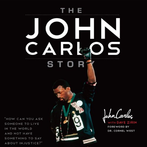 The John Carlos Story audiobook cover art