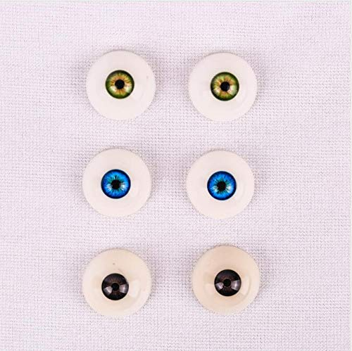 XMTX TPE Doll Eyes,Lifesize Doll for M-e-n,Green (Five Colors Choose)