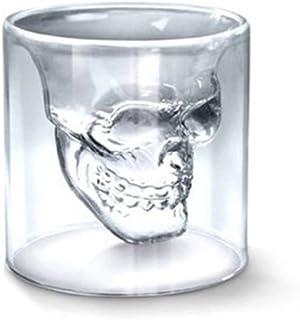 Bartram スカル カップ 頭蓋骨 ガラスカップ デュアル使用 75ml