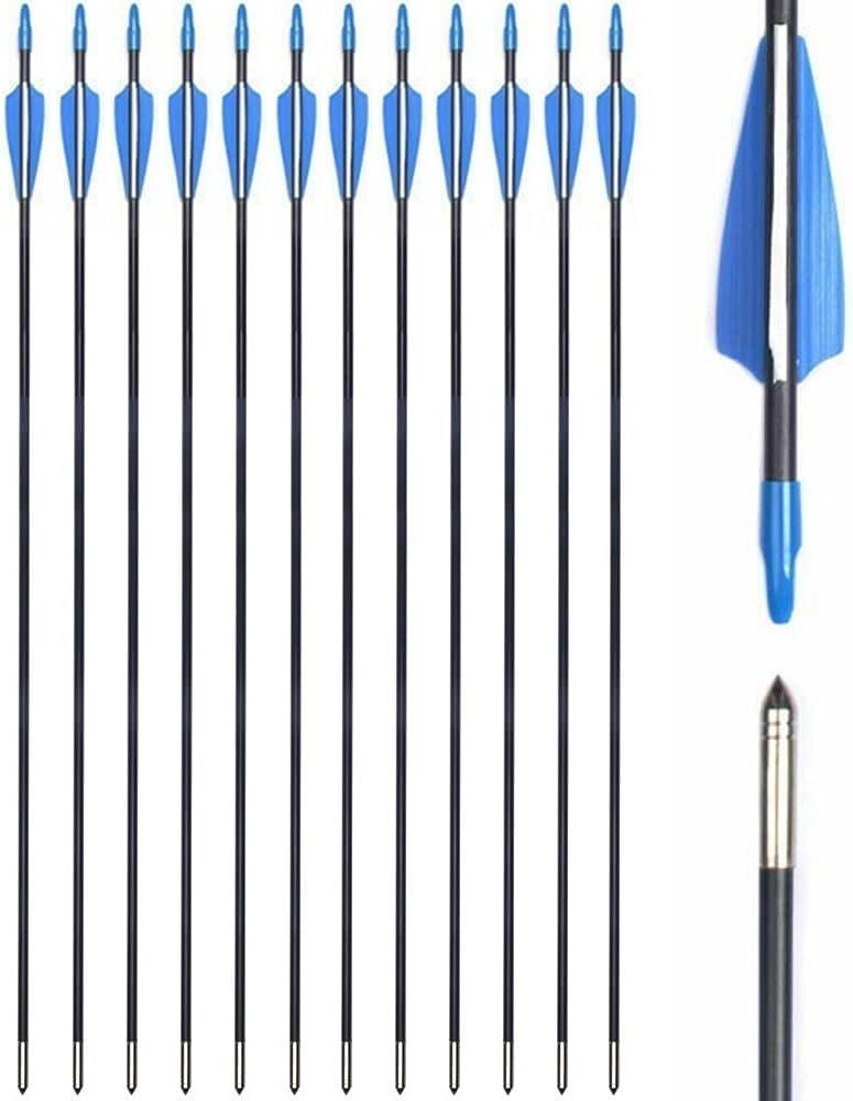 E-ROCK Cheap sale 28 Inch Fiberglass Archery Max 81% OFF Hunting Arrows Practice Target