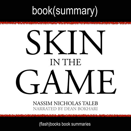 Summary of Skin in the Game by Nassim Nicholas Taleb audiobook cover art