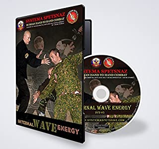 Russian Martial Arts Training DVD - Internal Wave Energy. Reality Self Defense DVD by Russian Systema Spetsnaz Hand to Hand Combat