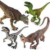 Dfghbn Dinosaurio Juego de Juguete Simulación Plastic Plastic...