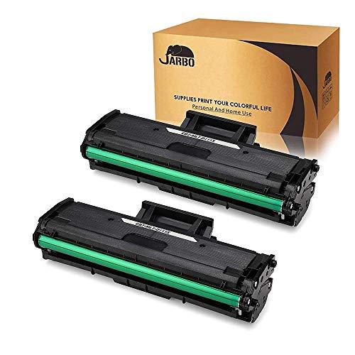 JARBO 2xNero Sostituzione per Samsung MLT-D111S Cartucce di Toner Compatibile con Samsung Xpress SL-M2020W SL-M2020 SL-M2022 SL-M2022W SL-M2026 SL-M2026W SL-M2070 SL-M2070W SL-M2070FW