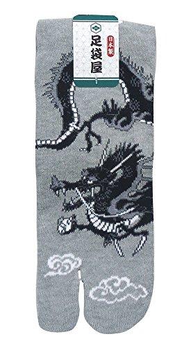 足袋屋『紳士足袋 龍柄(TM423)』
