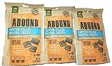 Abound Center-Filled Dental Cat Treats Oven Roasted Chicken Flavor 3 (2.1 Oz) Packet Bundle