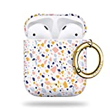 Vandel AirPod Case Cover for Women. Designer Apple AirPods Case for Women EarPods 2nd Generation & 1st Gen Hard Case with Aesthetic Design Case Keychain, Cute for Teen Girls, Wireless Charging