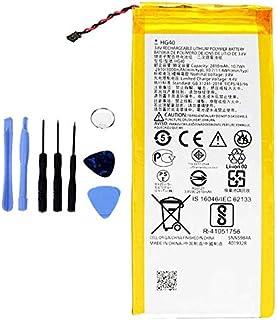 Ellenne Batería Compatible con Motorola Moto G5 Plus HG40 XT1685 XT1687 AD Alta Capacidad 3000 mAh con Kit de desmontaje Incluido
