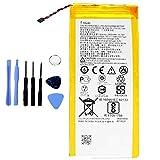 Ellenne Batterie compatible avec Motorola Moto G5 Plus HG40 XT1685 XT1687 à haute capacité 3000...
