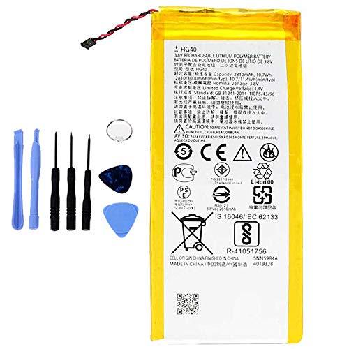Ellenne Batería compatible con Motorola Moto G5 Plus HG40 XT1685 XT1687 de alta capacidad 3000 mAh con kit de desmontaje incluido