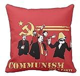 Pillow Cuscino Personalizzato 40X40 Comunismo Partito Comunista Simbolo Pugno Chiuso PROLETARIATO Hand UP Marx Lenin Stalin MAO URSS CCCP Cina Russia Revolution 2 Idea Regalo