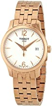 Tissot T063.210.33.037.00 Women's Watch Tradition Rose Gold 33mm Stainless Steel