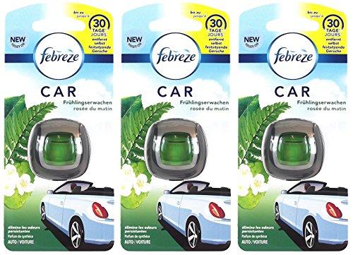Febreze 3X Frühlingserwachen Orginal Lufterfrischer Autoduft Fahrzeugduft 2 ml