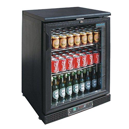Arrière-bar réfrigéré 104 bouteilles - Polar - R600A 1 Porte Vitrée/battante