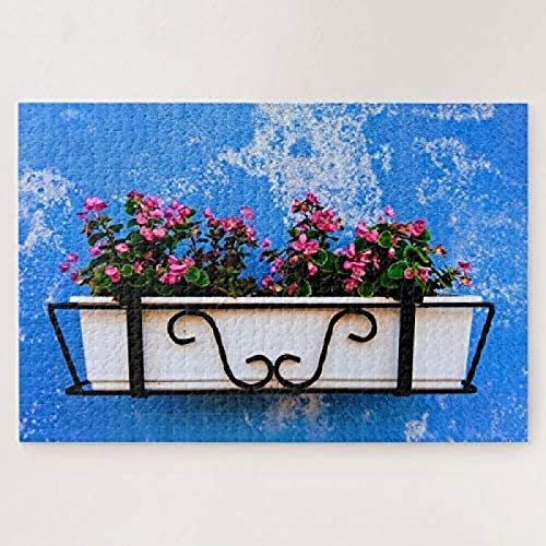Difficult flower photo art picture puzzle pc 500-piece puzzle Rich Vibrant Colors Challenging Jigsaws Fun Games For Girls To Improve Ingenuity