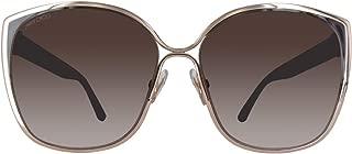 Jimmy Choo Women's Cat Eye Maty/S V6 Sunglasses, Gdbw Glitter, 58