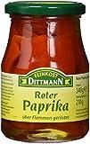 Feinkost Dittmann Rote Paprika geröstet, 3er Pack (3 x 340 g)