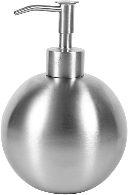 500ml At the price Stainless Steel Elegant Ball Shaped Lot Shampoo Liquid Shower Pump