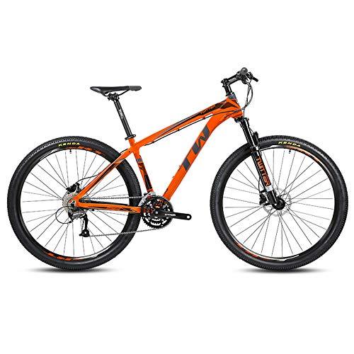 GQFGYYL-QD Bicicleta de montaña con Asiento Ajustable y absorción de Impactos, Freno...