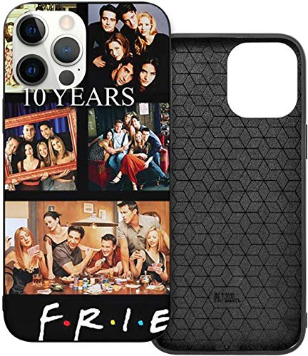 Frien-ds TV Sho-w Poster iPhone 12 Hülle, TPU Vollschutzhülle, langlebig und stark für iPhone 12/12 Pro/12 Mini/12 Pro Max