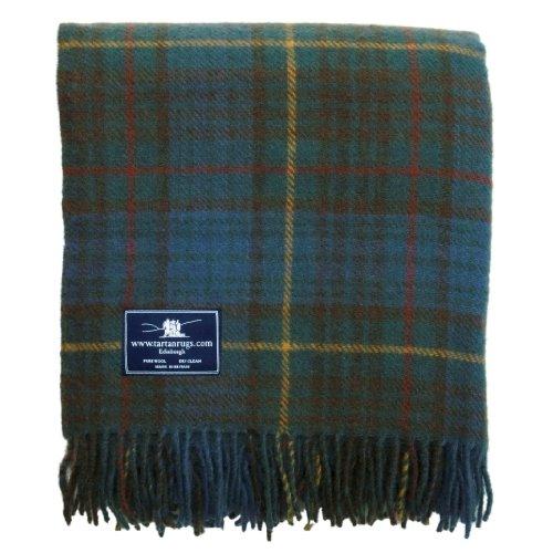 Tweedmill Textiles Antique Hunting Stewart Tartan/Schottenmuster Wolldecke