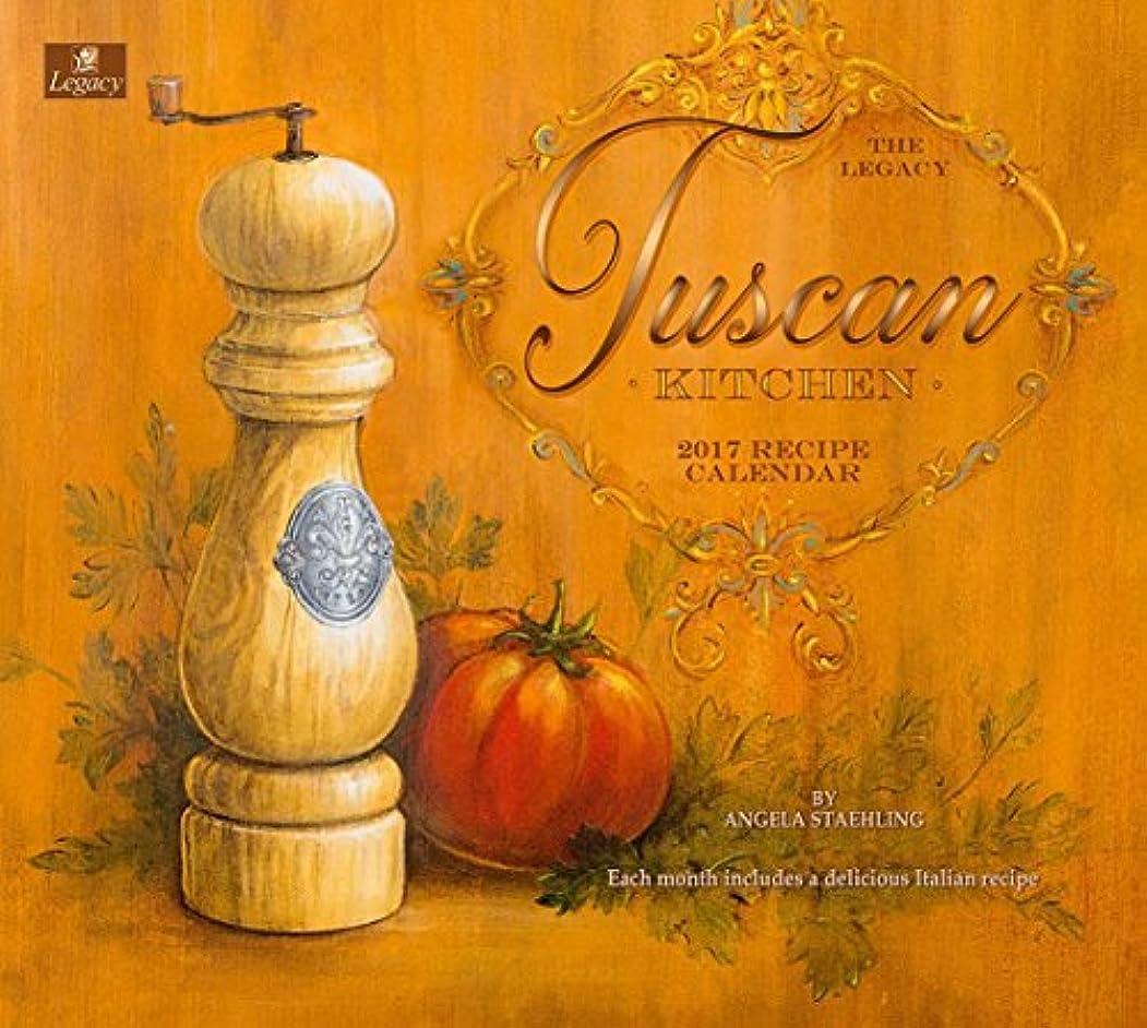 離婚事件、出来事国家Legacy Publishing Group 2017 Wall Calendar with Recipes Tuscan Kitchen [並行輸入品]
