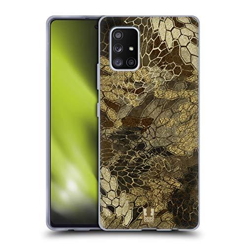 Head Case Designs Vue De Vol du Canard Et De La Sauvagine Chasse Au Camouflage Coque en Gel Doux Compatible avec Samsung Galaxy A51 5G (2020)