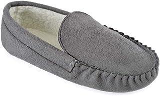 DINZIO Mens Moccasin Slipper