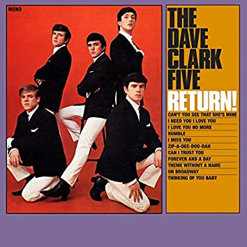 The Dave Clark Five Return! (2019 - Remaster)