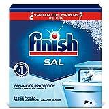 Finish Sal para el Lavavajillas, Función Antical, Mayor Rendimiento del Lavaplatos - 2 Kg