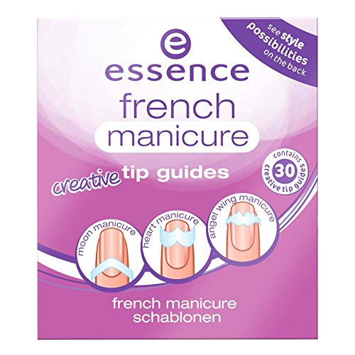 essence - Nageldesign - french manicure creative tip guides 02 - from heaven with love