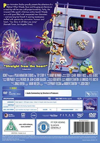 Disney & Pixar's Toy Story 4 [DVD] [2019]