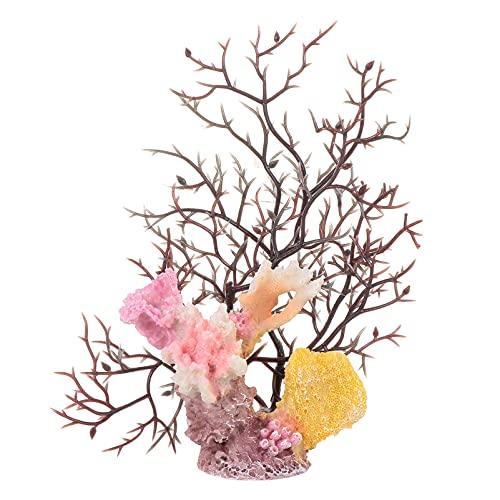 Scicalife Resina Acquario di Corallo Decorationfish Serbatoio Decorazione Fai da Te di Paesaggio Accessorio di Corallo della Resina di Simulazione Cor