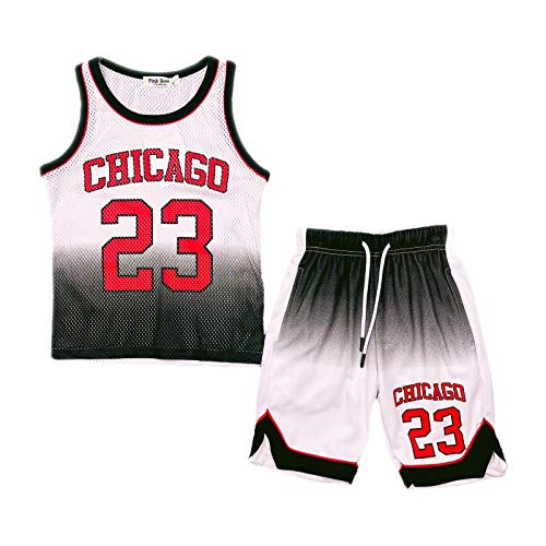 Aelstores - Juego de pantalones cortos de baloncesto para niños de 2 a 14 años BNWT