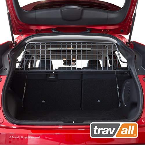 Travall Guard Grilles Pare-Chien Compatible avec Mitsubishi Eclipse Cross (2017 et Ulterieur) TDG1581 - Grille de Separation avec Revêtement en Poudre de Nylon