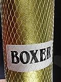 GYN Set Juego DE Boxeo con Guantes Y Saco para NIÑOS Mayor DE 3 AÑOS Idea DE Regalo Dorado 55X20CM