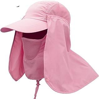CGXBZA Sombrero De Protección Profesional Para El Verano Sombreros Para El Sol Mujeres Hombres Cuello Cara Protector Solar Solapa Sombrero Sombrero De Pescador Sombrero De Máscara Para El Sol Al Aire Libre