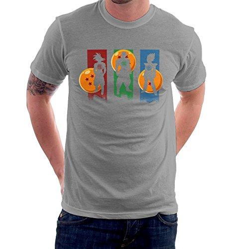 Cloud City 7 The Core Team Dragonball Z Goku Vegeta Piccolo Men's T-Shirt