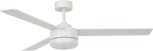 Bayside Lagoon 132cm 3 Blade Ceiling Fan and Light in White